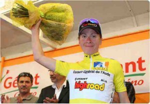 Arndt Takes Lead in Tour De L'Aude